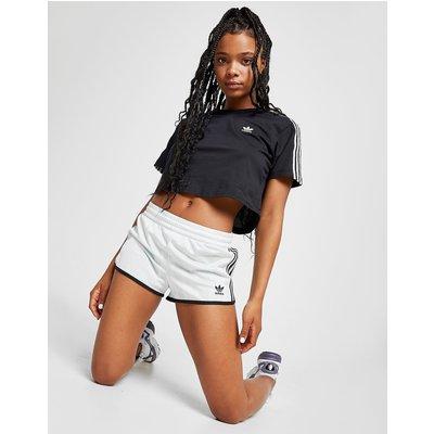 ADIDAS adidas Originals Fußball Shorts Damen - Light Blue/Black - Womens, Light Blue/Black