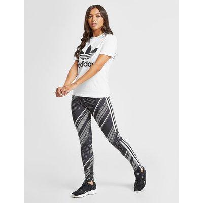 ADIDAS adidas Originals Print Leggins Damen - Only at JD - Schwarz - Womens, Schwarz