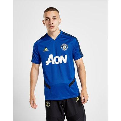 adidas Manchester United FC Training Shirt - Blau - Mens, Blau