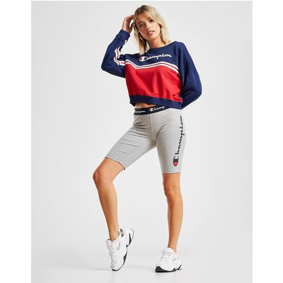 CHAMPION Champion Logo Cycle Shorts - Only at JD - Grau - Womens, Grau