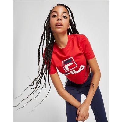 FILA Fila Stack Logo Crop T-Shirt - Only at JD - Rot - Womens, Rot