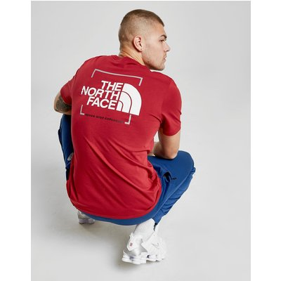 The North Face Boxout Back Logo T-Shirt - Rot - Mens, Rot
