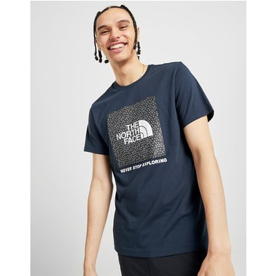 The North Face Reflective Large Logo T-Shirt - Blau - Mens, Blau