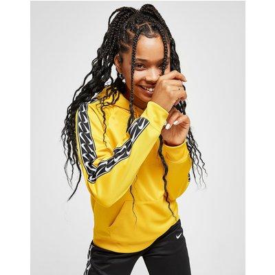 NIKE Nike Tape Hoodie Damen - Gelb - Womens, Gelb