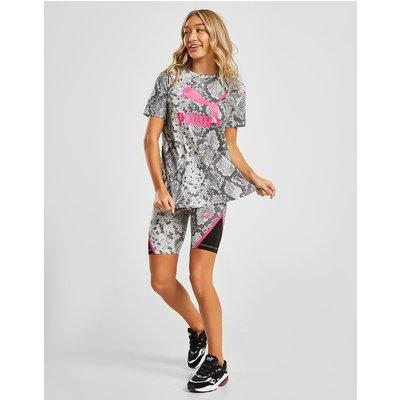 PUMA PUMA Print Shorts Damen - Only at JD - Schwarz - Womens, Schwarz