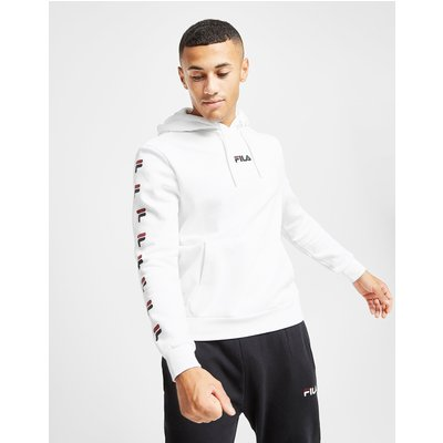 FILA Fila Yadis Overhead Hoodie - Only at JD - Weiss - Mens, Weiss