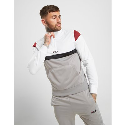 FILA Fila Colm 1/4 Zip Track Top - Only at JD - Weiss - Mens, Weiss