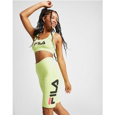 FILA Fila Logo Cycle Shorts - Only at JD - Grün - Womens, Grün