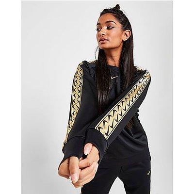 Nike Double Swoosh Tape Sweatshirt - Black/Gold, Black/Gold