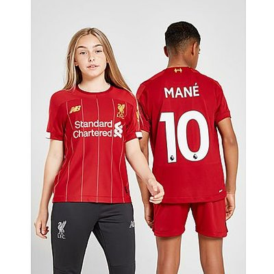 New Balance Liverpool FC 2019/20 Mane #10 Home Shirt Junior - Red/White/Yellow - Kind