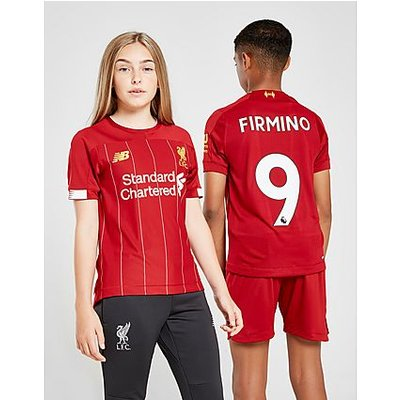 New Balance Liverpool FC 2019/20 Firmino #9 Home Shirt Junior - Red/White - Kind