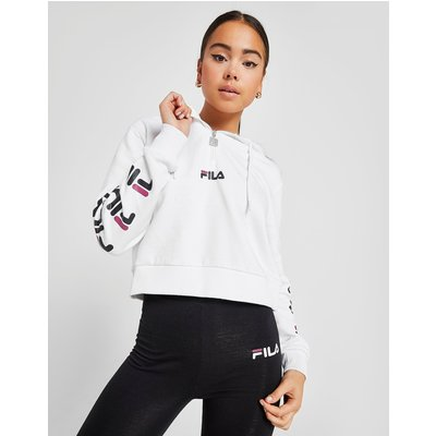 FILA Fila Repeat 1/4 Zip Hoodie - Only at JD - Weiss - Womens, Weiss