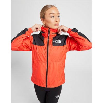 The North Face Packable Panel Wind Jacket - Rot - Womens, Rot
