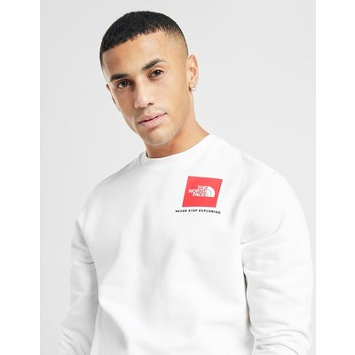 The North Face Box Sweatshirt - Weiss - Mens, Weiss
