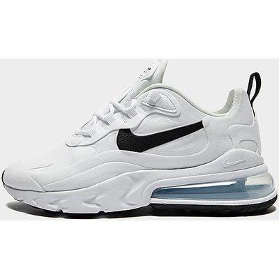 Nike Air Max 270 React - White/Black - Womens, White/Black