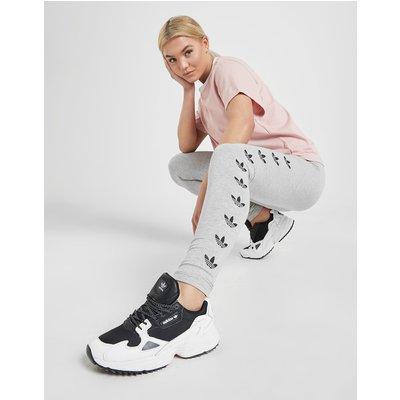 adidas Originals Repeat Trefoil Leggings - Grau - Womens, Grau