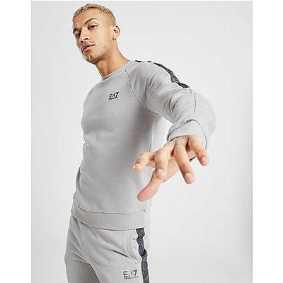 Emporio Armani EA7 Tape Sweatshirt - Grey - Grey | EMPORIO ARMANI EA7 SALE