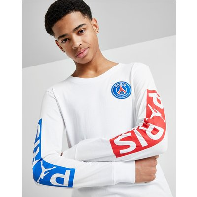 Jordan x Paris Saint Germain Wordmark T-Shirt Junior - Wit