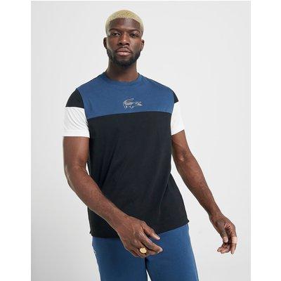 Lacoste Block T-Shirt - Schwarz - Mens, Schwarz