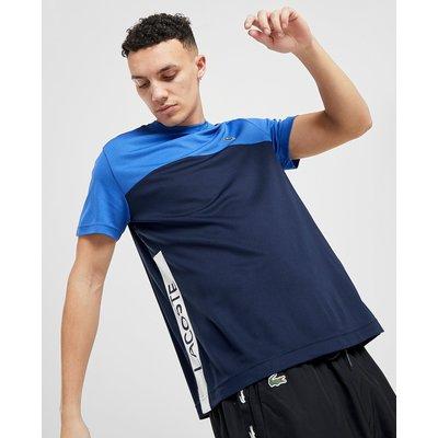 Lacoste Poly Panel T-Shirt - Blau - Mens, Blau