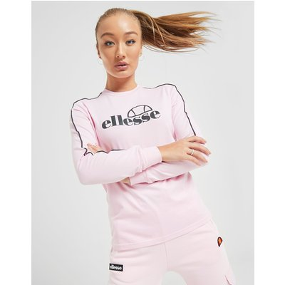 Ellesse Logo Langarmshirt - Pink - Womens, Pink