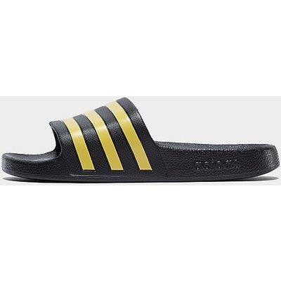 adidas Adilette Aqua Badelatschen - Black/Yellow - Mens, Black/Yellow