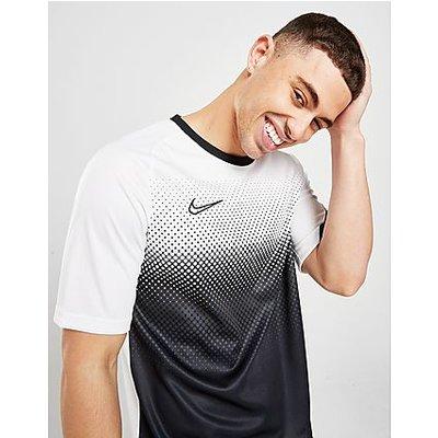 Nike Dri-FIT Academy Fade T-Shirt - White/White/Black/Black, White/White/Black/Black