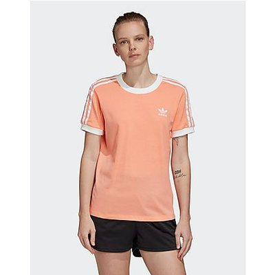 adidas Originals 3-Stripes California T-Shirt Women's - Orange, Orange