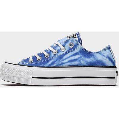 Converse All Star Ox Lift Tie Dye - Blue - Womens, Blue