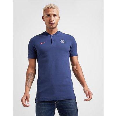 Nike Paris Saint-Germain Herren-Polo - Midnight Navy/University Red - Midnight Navy/University Red | NIKE SALE