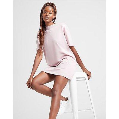 Nike Essential T-Shirt Kleid - Plum Chalk/White - Plum Chalk/White