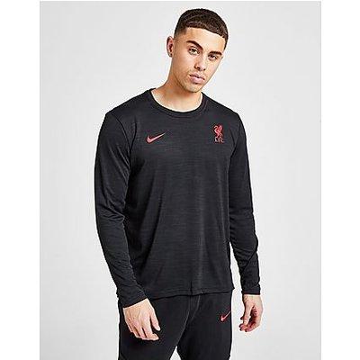 Nike Liverpool FC Langarm-Fußballoberteil - Black/Gym Red - Black/Gym Red | NIKE SALE