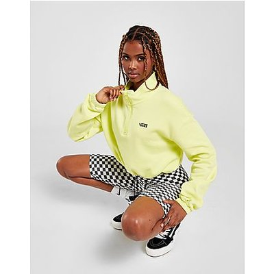 Vans 1/2 Zip Crop Fleece Sweatshirt | VANS SALE