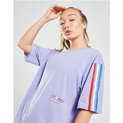 adidas Originals Adicolor Tricolor Oversize T-Shirt - Light Purple - Light Purple | ADIDAS SALE