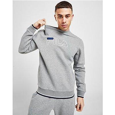 Fila Large Logo Crew Sweatshirt   FILA SALE
