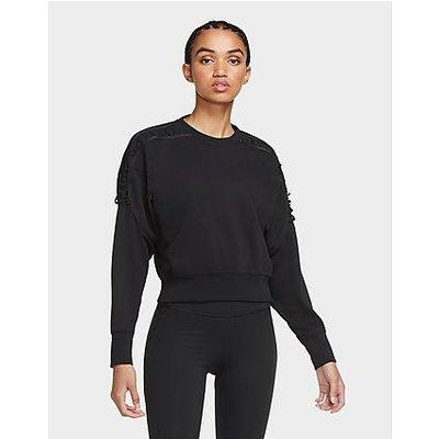 Nike Fleece Trainings-Shirt - Black/Clear - Black/Clear | NIKE SALE