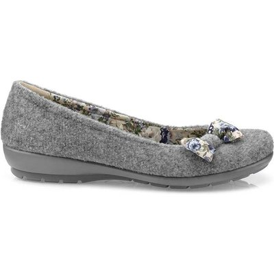 Adore Slippers - Grey - Standard Fit