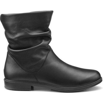 Chester Boots - Black - Wide Fit