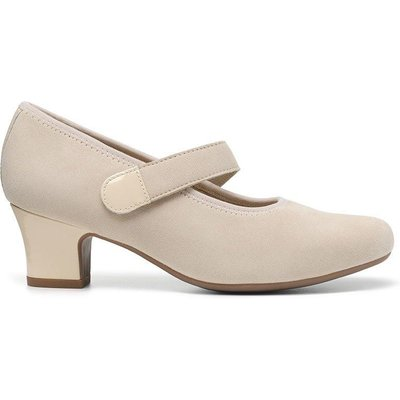 Charmaine Heels - Buttermilk - Wide Fit
