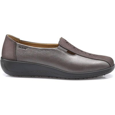 Calypso Shoes - Gunmetal Multi - Wide Fit