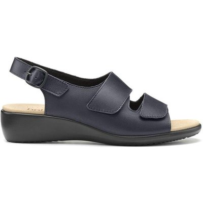 Easy Sandals - Navy - Wide Fit