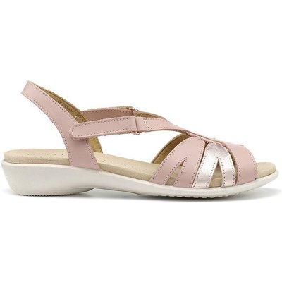 Flare Sandals - Platinum - Wide Fit