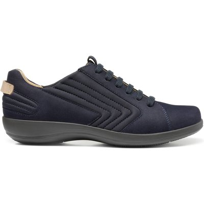 Hazel Shoes - Navy - Extra Wide Fit