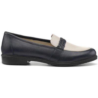Isla Shoes - Navy / Soft Beige - Wide Fit