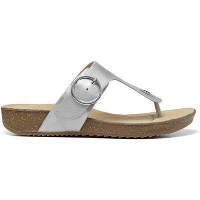 Resort Sandals - Dark Tan - Wide Fit
