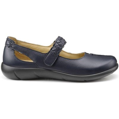 Shake Shoes - Navy - Wide Fit