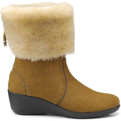 Truro Boots - Brandy / Cream - Standard Fit