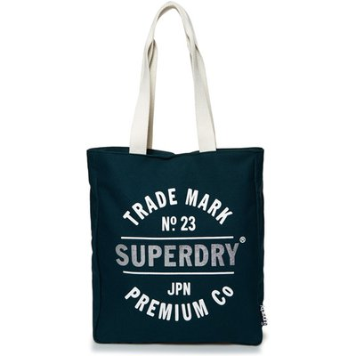 Superdry Athletic League Canvas Tote Bag, Green