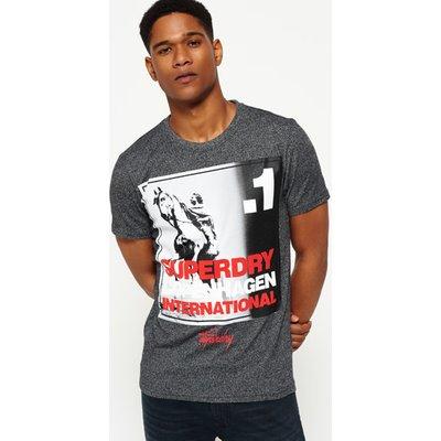 SUPERDRY Superdry Kopenhagen T-Shirt mit großem Fotoprint