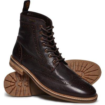 SUPERDRY Superdry Brad Brogue Premium Stamford Boots